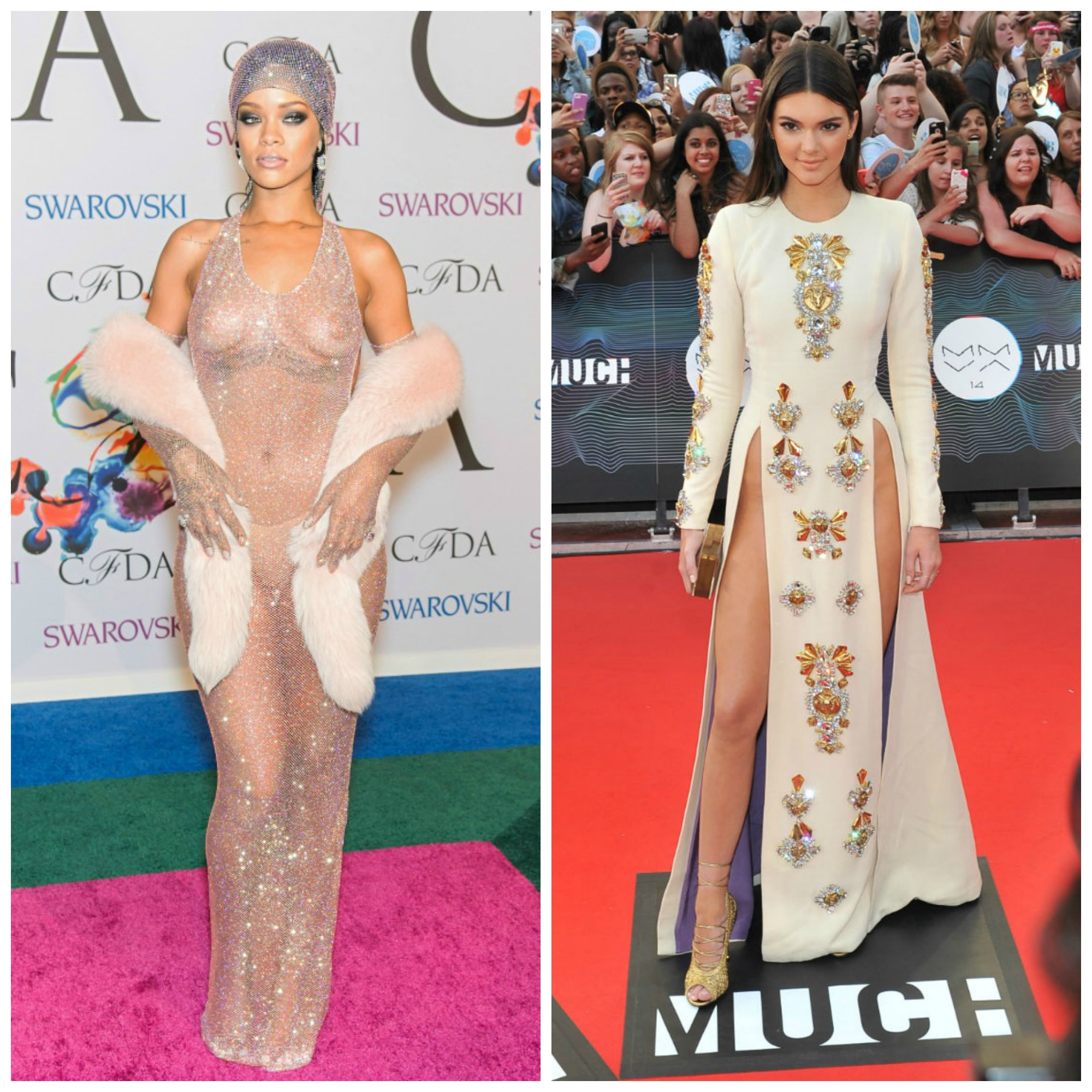 Red carpet gossip: slits and nips