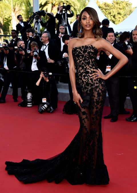 Jourdan Dunn in Ralph & Russo