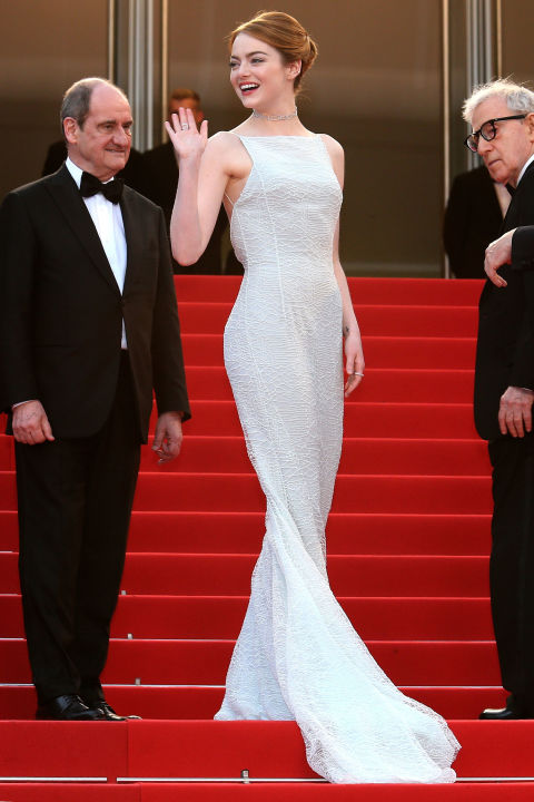 Emma Stone in Christian Dior