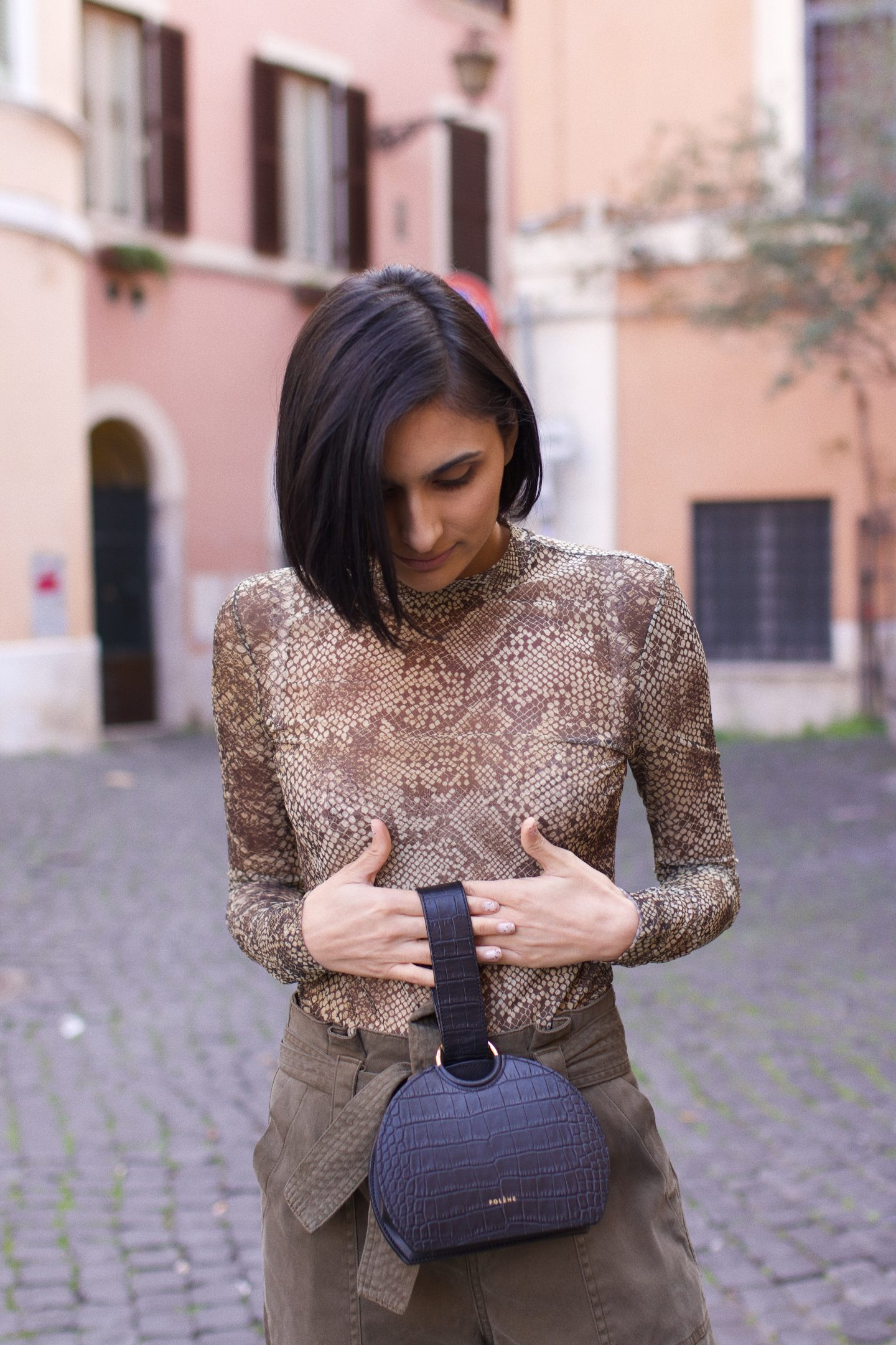 Earthy Tones In Trastevere